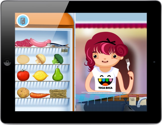 Toca Kitchen (iTunes and Kindle Fire, $3, ages 4+)