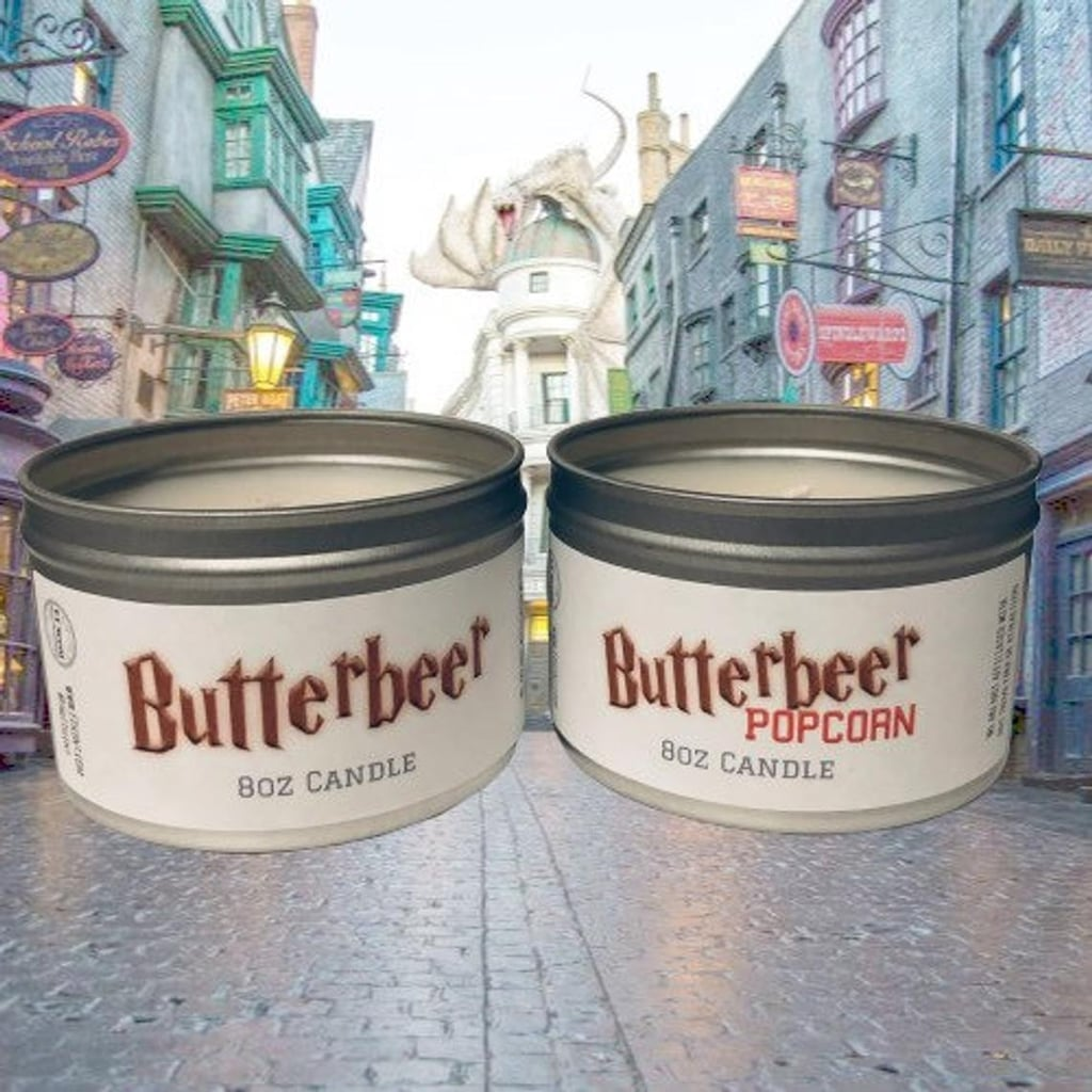 You Can Get a Butterbeer-Popcorn-Scented Candle on Etsy