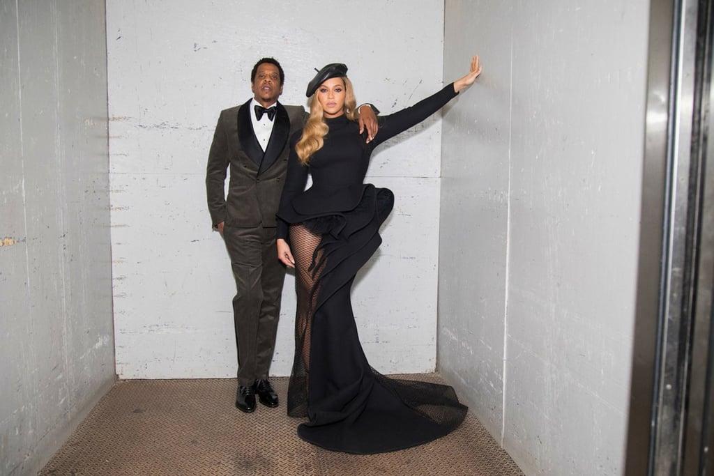 Beyonce Wearing Dress at Clive Davis Gala 2018