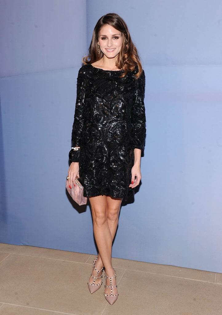 Olivia Palermo at the Valentino Garavani Virtual Museum launch party in NYC.