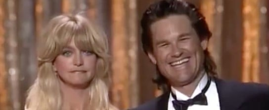Goldie Hawn and Kurt Russell Presenting at the Oscars Video