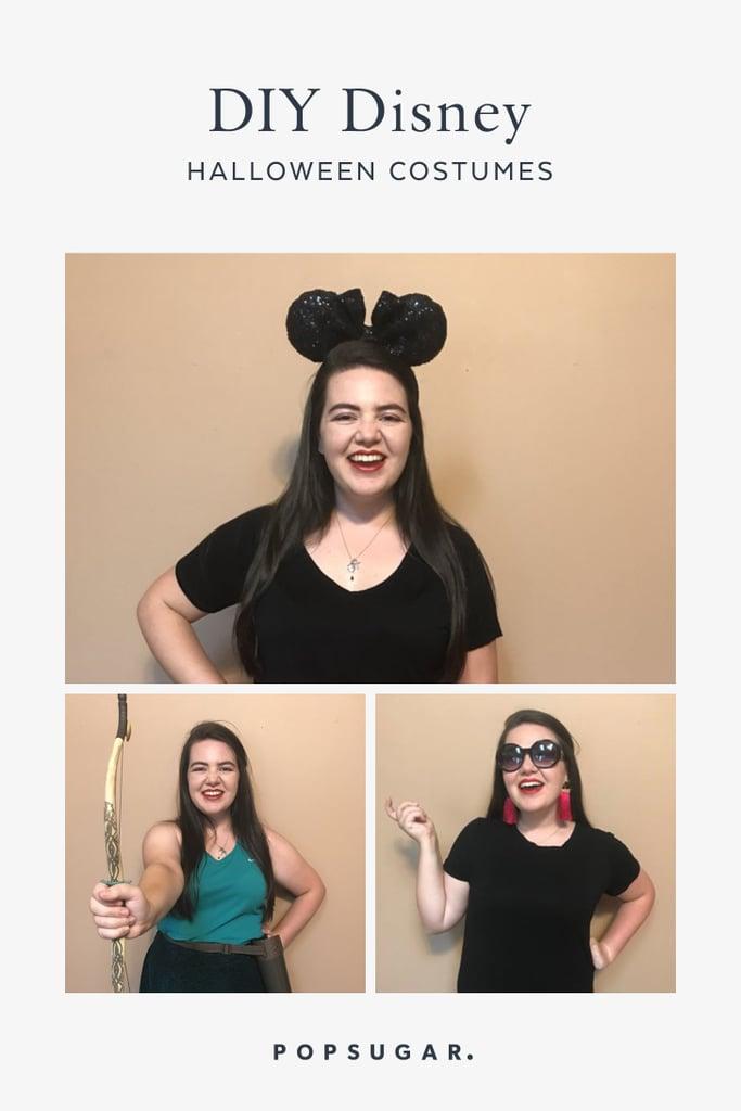Easy DIY Disney Costumes