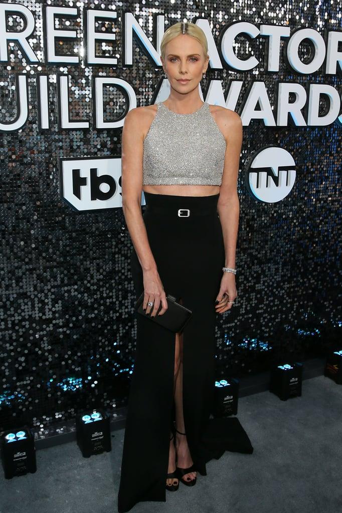 Charlize Theron at the 2020 SAG Awards