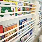 Wall-Mounted Bookshelves