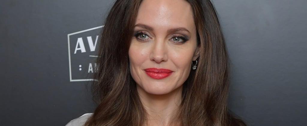 Angelina Jolie Drops Jaws While Being Honoured at the Hollywood Film Awards