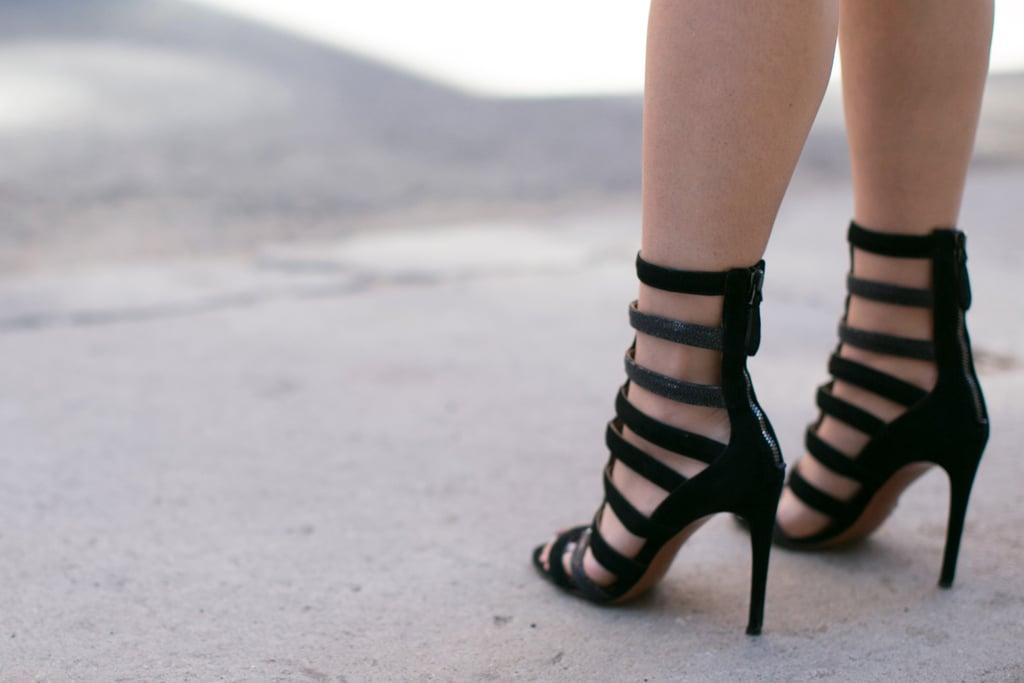 Now, that's some fierce footwear.