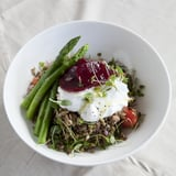 Ramadan Recipes | tashas Dubai Labneh and Lentil Salad