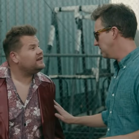 James Corden and Edward Norton Fight Club Video