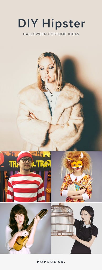 diy hipster costumes popsugar smart living - Hipster Halloween Ideas