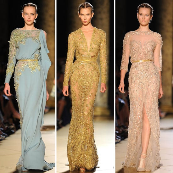 Pictures and Review of the 2012 Fall Couture Elie Saab Show