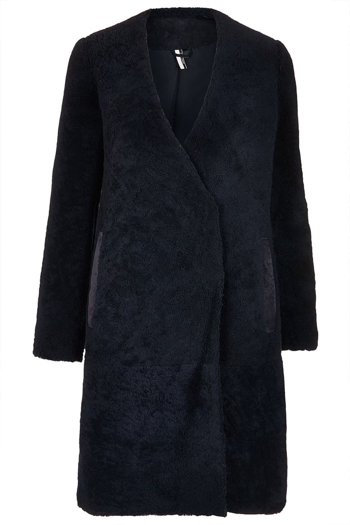 Worth the investment, this Topshop Sheepskin Boyfriend Coat ($995) is a classic cut with a plush update.