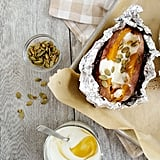Baked Sweet Potatoes With Honeyed Yogurt and Pepitas