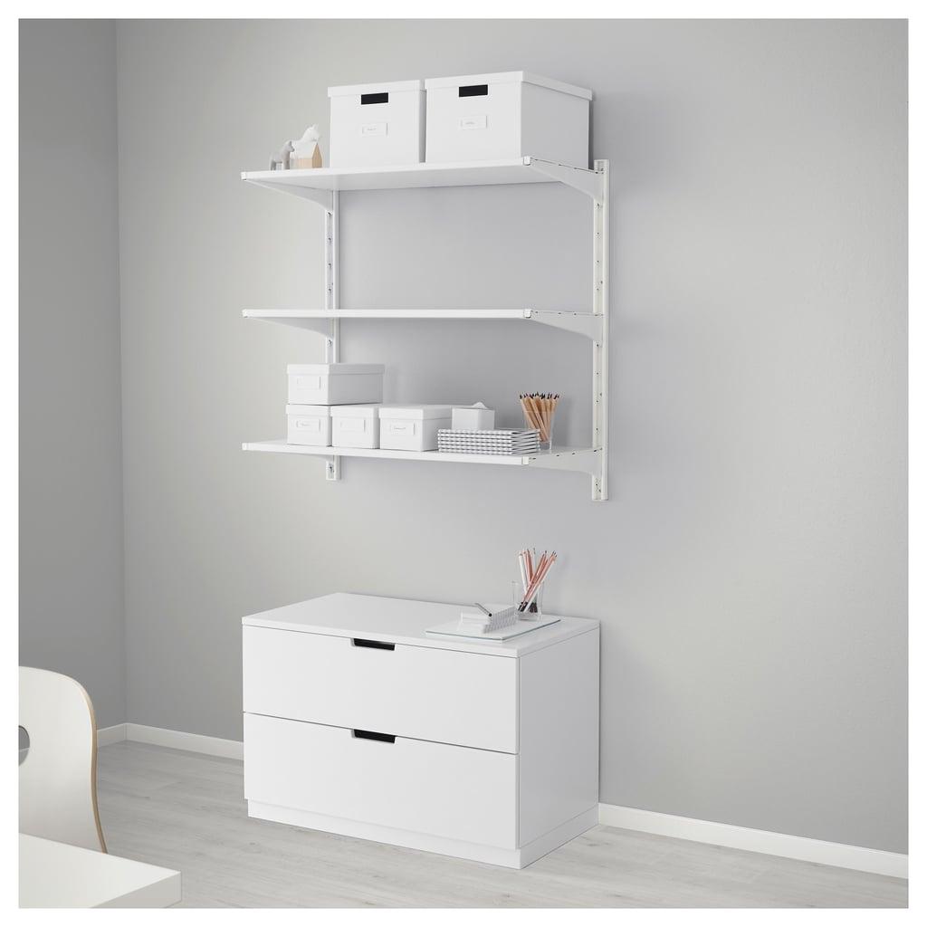 Algot Wall Upright Shelves