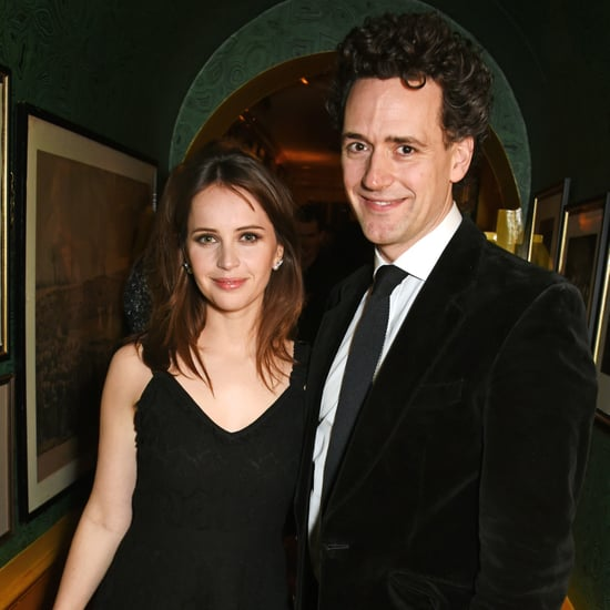 Felicity Jones and Charles Guard Married