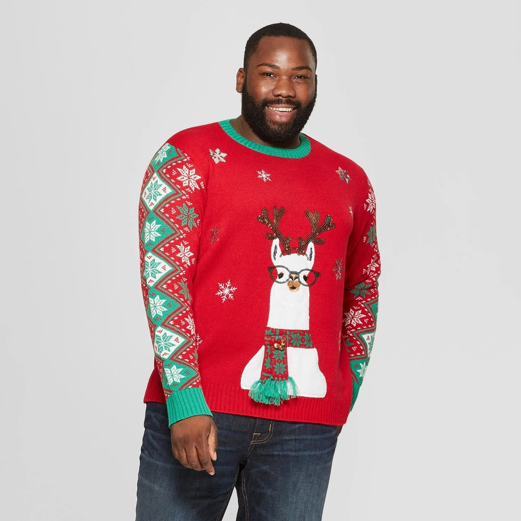 Ugly Christmas Family Pictures.Adult Plus Size Llama Family Ugly Christmas Sweater Best