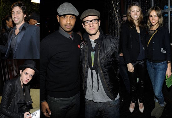 Photos of Jessica Biel and Justin Timberlake at a Summit on the Summit Event 2009-12-10 10:30:13