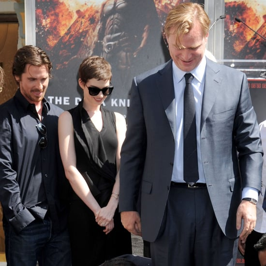 Christopher Nolan Hand and Footprint Ceremony Pictures