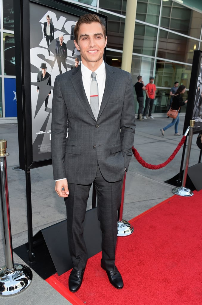 Dave Franco suited up for the premiere.