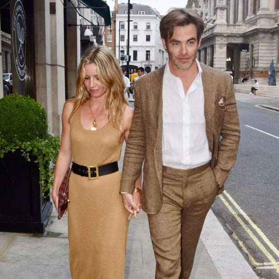 Chris Pine and Annabelle Wallis in London July 2018