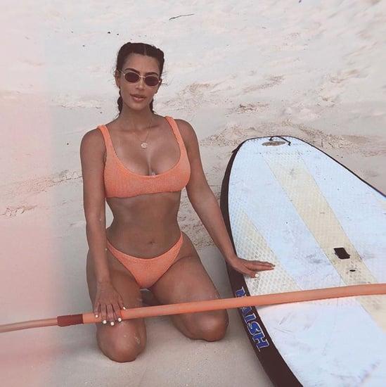 Celebrities Wearing Hunza G Swimwear