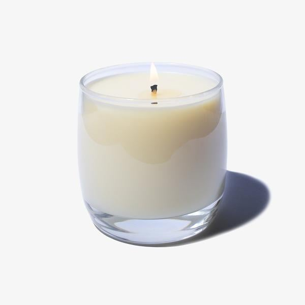 Scented Candle in Reusable Glass Wine Jar