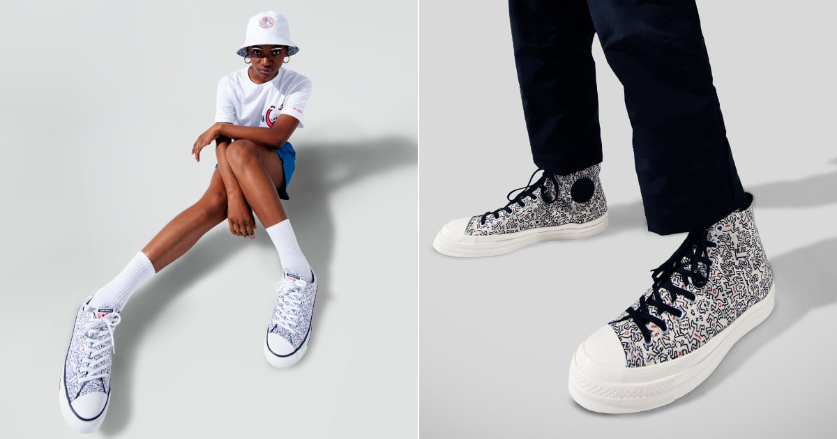 Converse Has a New Collaboration and Oh My! Those Wiggly-Print Sneakers