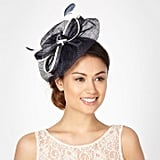 Ben de Lisi Navy Two Tone Bow Wave Fascinator