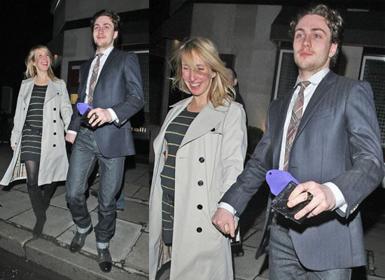 Photos of Aaron Johnson and Sam Taylor-Wood