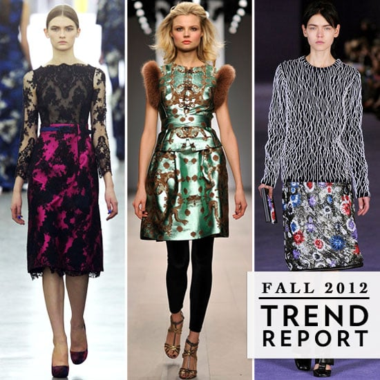 The Top Runway Trends From 2012 A/W London Fashion Week