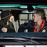 Hayden Christensen and Rachel Bilson drove away.