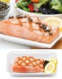 Warm Salmon Salad With Crispy Potatoes