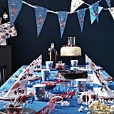 The April collection even includes a range of superaffordable paper products for children's parties.