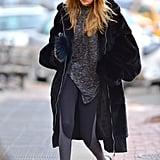 She Even Got to Take Home the Fenty x Puma Coat