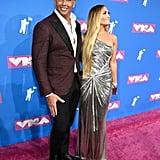 Jennifer Lopez at the 2018 MTV VMAs