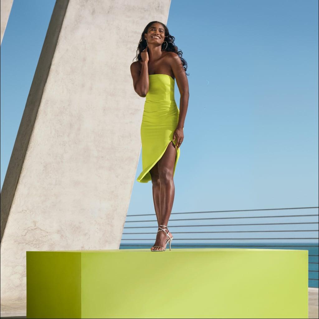 Cushnie for Target Strapless Side-Slit Dress