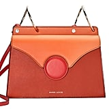 Danse Lente - Phoebe Two-tone Leather Shoulder Bag - Tan