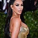 Kim Kardashian's Hair and Makeup at the 2018 Met Gala