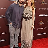 Leslie Mann and Judd Apatow hit the red carpet at the John Varvatos Stuart House benefit.