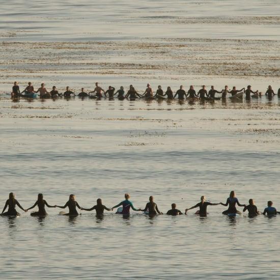 Santa Barbara Memorial Paddle-Out May 2014   Pictures