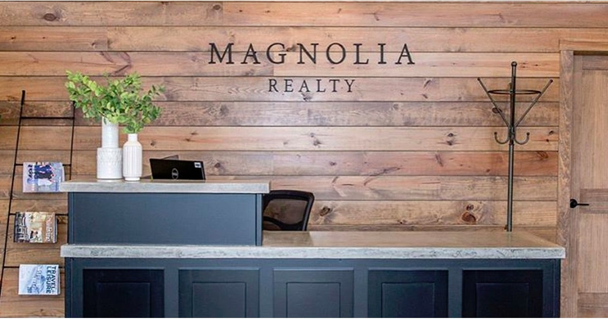 magnolia realty popsugar home - Magnolia Office