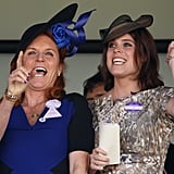 The Duchess of York and Princess Eugenie, 2015