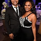 Pictured: Nia Long and Cuba Gooding Jr.