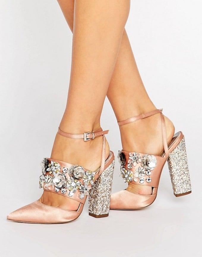 ASOS Papaya Embellished Heels