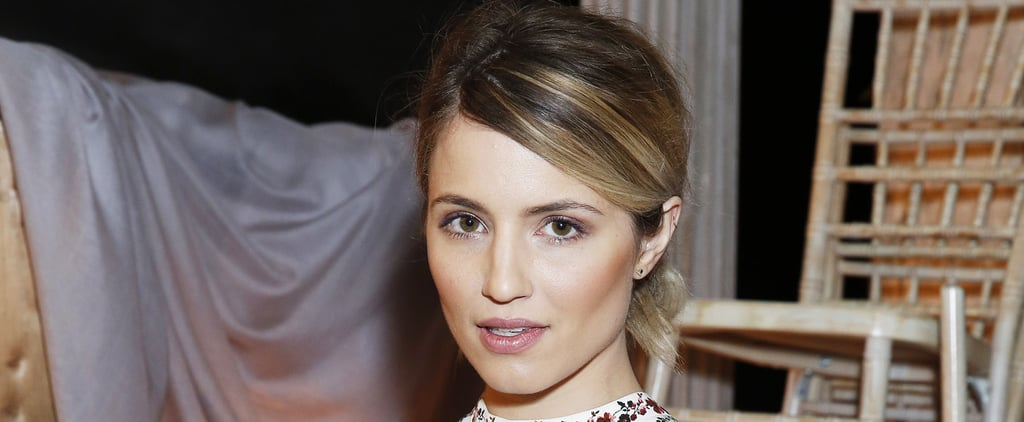 Warning: Dianna Agron's Engagement Ring May Cause Temporary Blindness