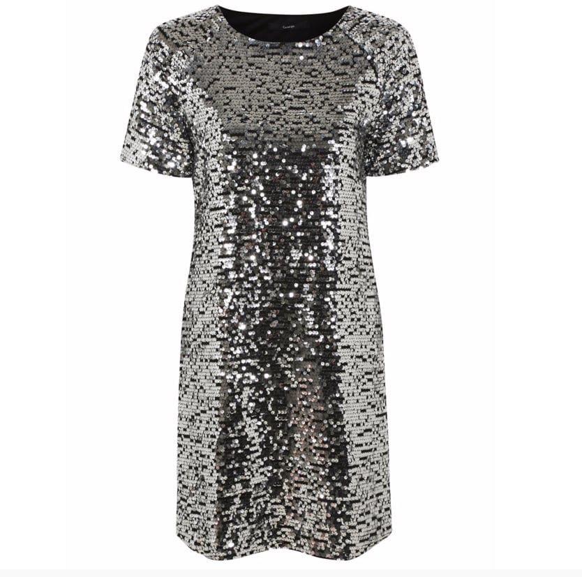 George Sequin Shift Dress