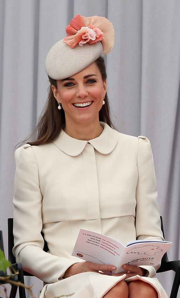 The Duchess of Cambridge Pulls a Cara Delevingne For a Royally Bold Brow