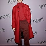 Cameron Dallas at the Boss Fall 2020 Show