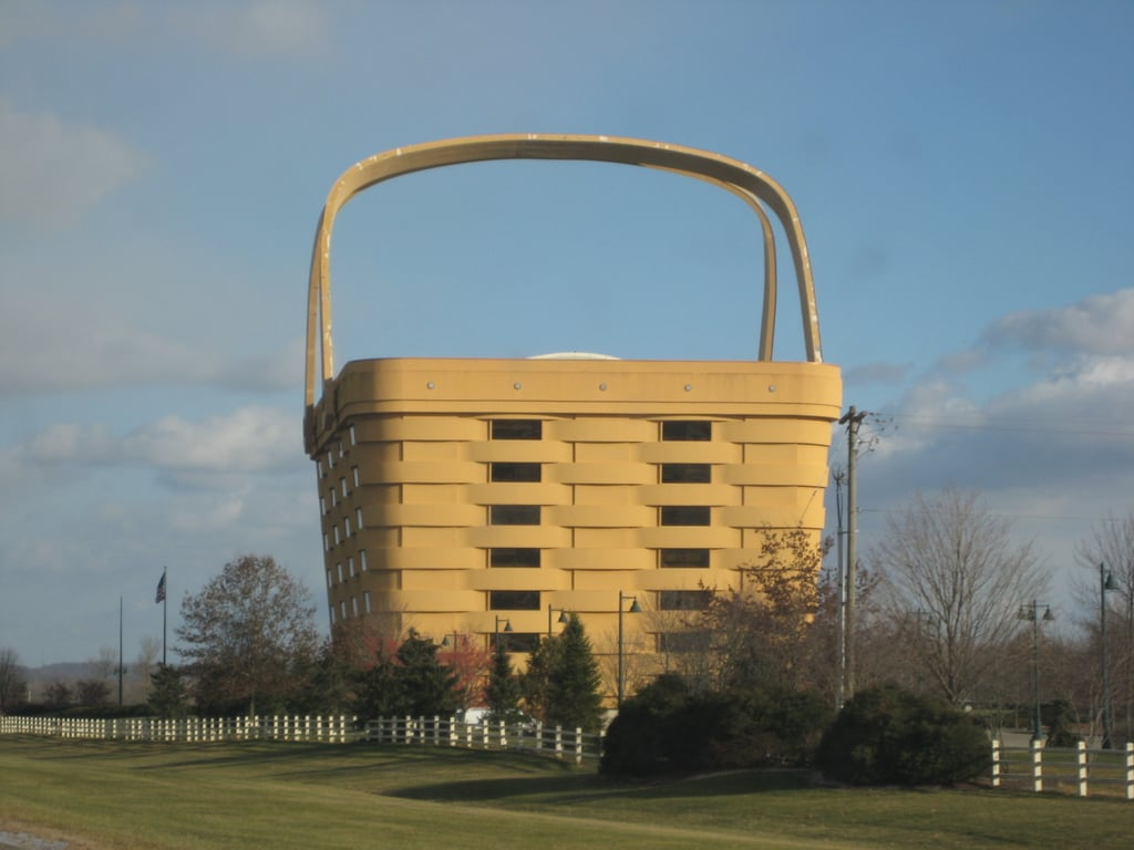 Longaberger Basket Building Unreal Travel Destinations