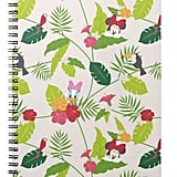 Minnie & Daisy Tropical Pattern Notebook ($14)