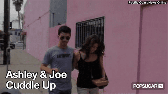 Video of Ashley Greene and Joe Jonas Together in LA 2010-09-29 11:45:00